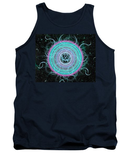 Cosmic Circle Tank Top by Shawn Dall