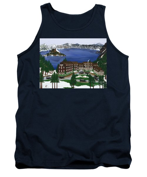 Crater Lake National Park Tank Top