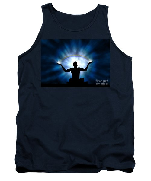 Tank Top featuring the photograph Creating The Rainbow by Tim Gainey