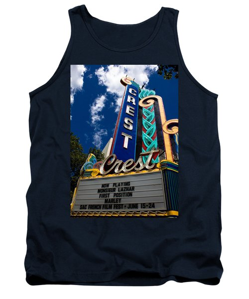 Crest Theater Tank Top