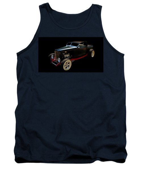 Hot Rod Tank Top featuring the photograph Custom Hot Rod by Aaron Berg