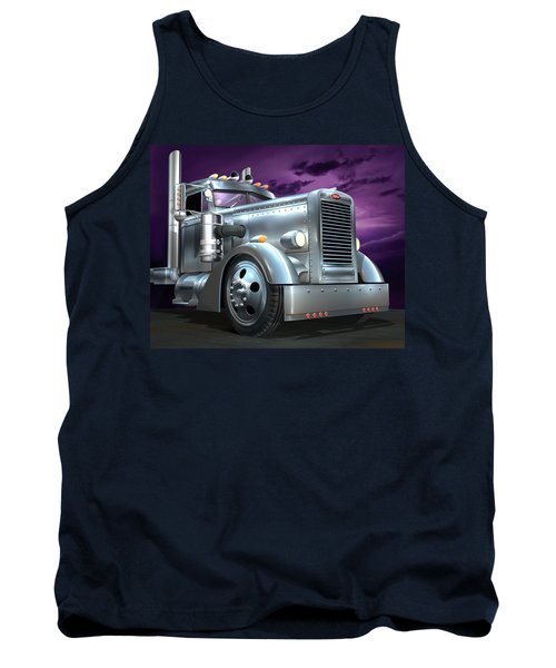 Custom Peterbilt Silver Ghost Tank Top