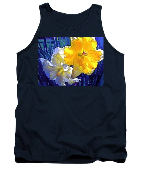 Daffodils 1 Tank Top by Pamela Cooper