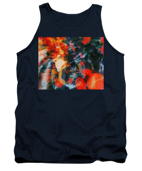Tank Top featuring the painting Dangerous Passion by Joe Misrasi
