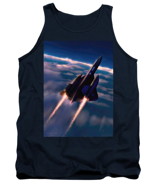 Tank Top featuring the painting Dark Angel by Dave Luebbert