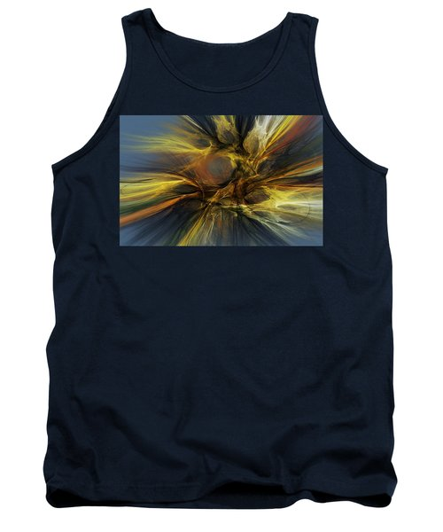 Tank Top featuring the digital art Dawn Of Enlightment by David Lane