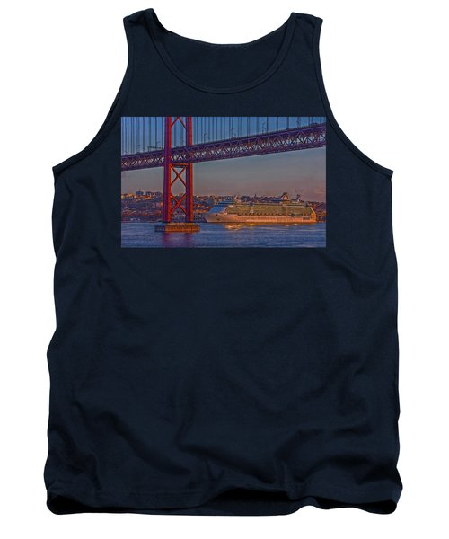 Dawn On The Harbor Tank Top