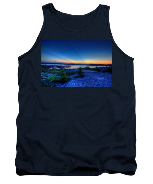 Days End Tank Top by Dave Files