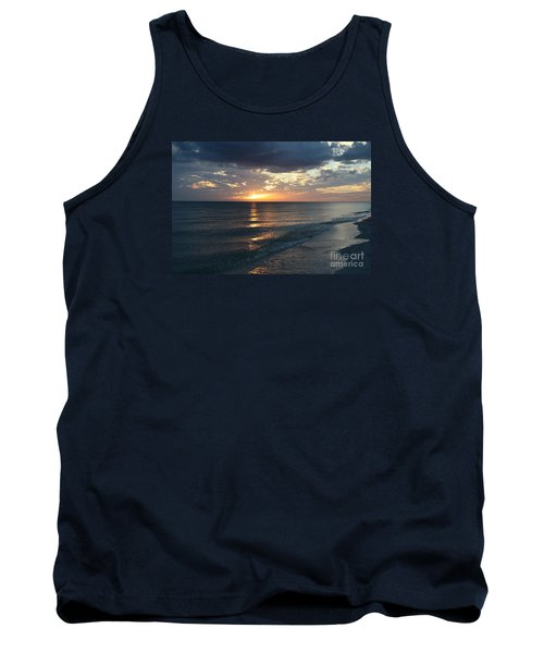 Days End Over Sanibel Island Tank Top by Christiane Schulze Art And Photography