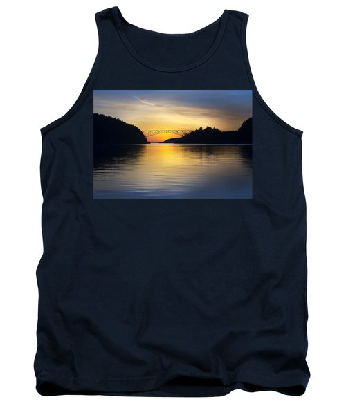 Tank Top featuring the photograph Deception Pass Bridge by Sonya Lang