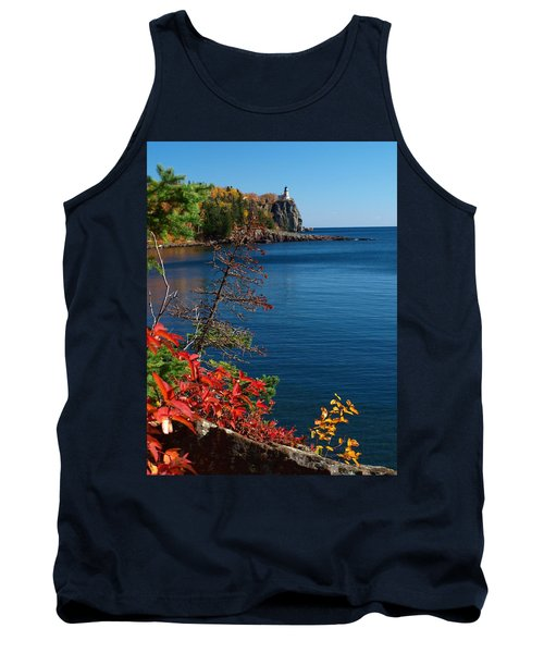 Deep Blue Superior Tank Top by James Peterson