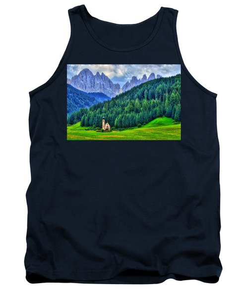 Deep In The Mountains Tank Top by Midori Chan
