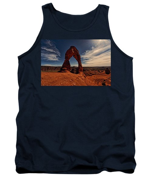Delicate Arch Afternoon Glow Tank Top