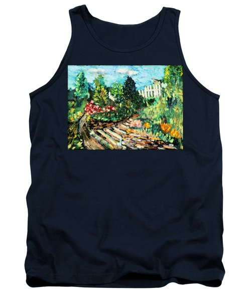 Delphi Garden Tank Top by Michael Daniels