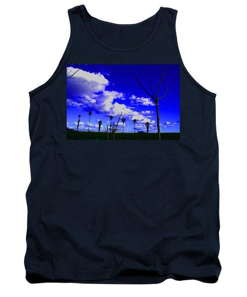 Delta Clouds Tank Top