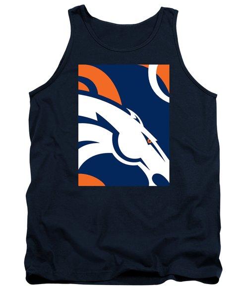 Denver Broncos Football Tank Top