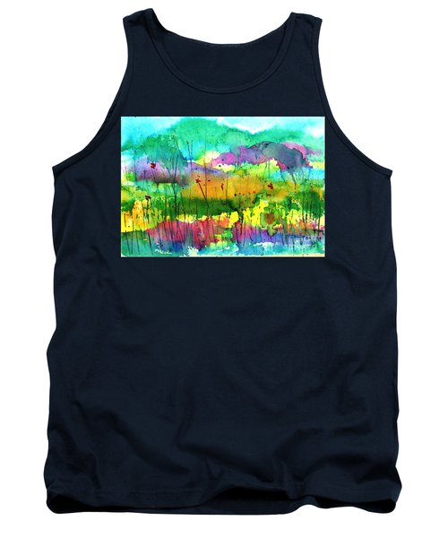 Desert In The Spring Tank Top