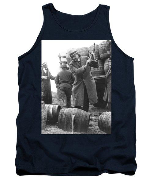 Destroying Barrels Of Beer Tank Top