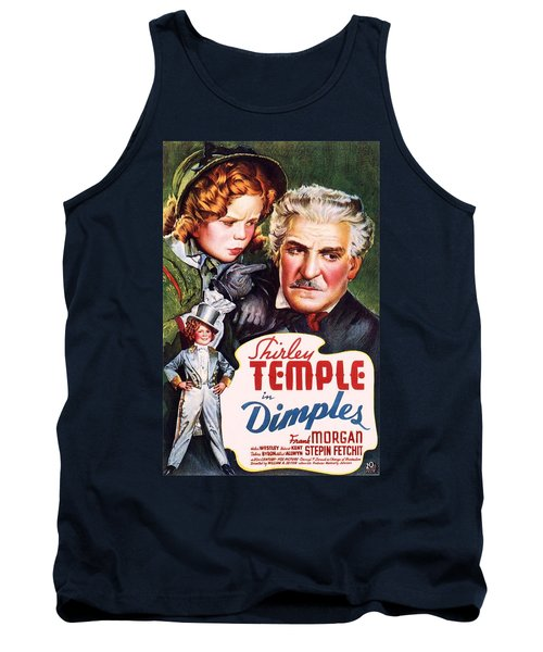 Dimples Tank Top by Movie Poster Prints