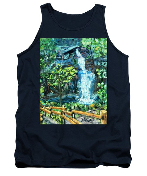 Dingman Falls Eastern Pennsylvania Tank Top by Michael Daniels