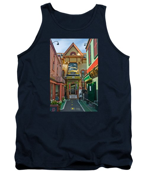 Dinks Taxi In Bar Harbor Tank Top