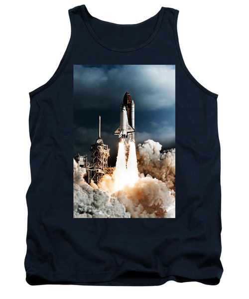 Discovery Hubble Launch Sts-31 Tank Top