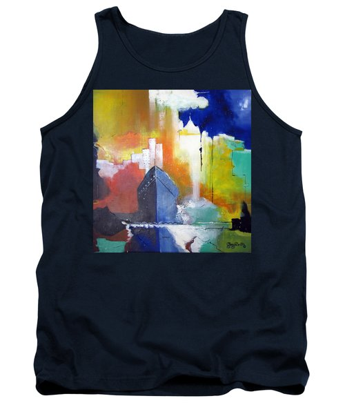 Down The Hudson Tank Top by Gary Smith