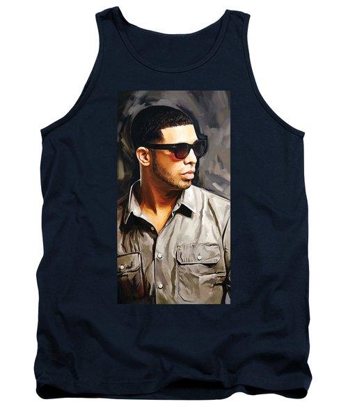 Drake Artwork 2 Tank Top