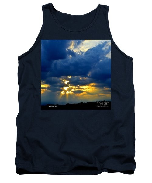Dramatic Clouds Tank Top by Luther Fine Art