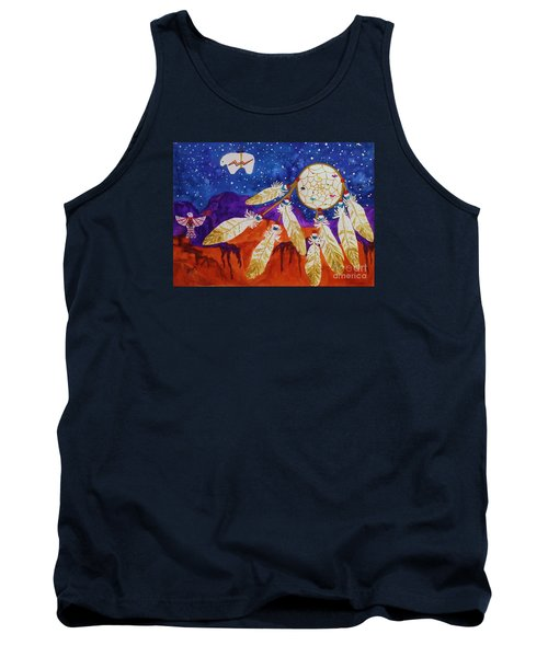 Dreamcatcher Over The Mesas Tank Top