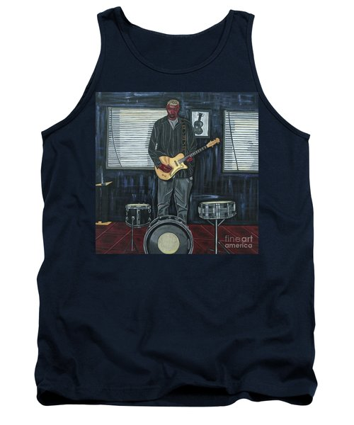Drums And Wires Tank Top by Sandra Marie Adams