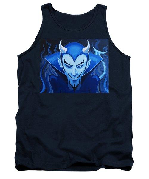 Devil Who Is Blue Tank Top