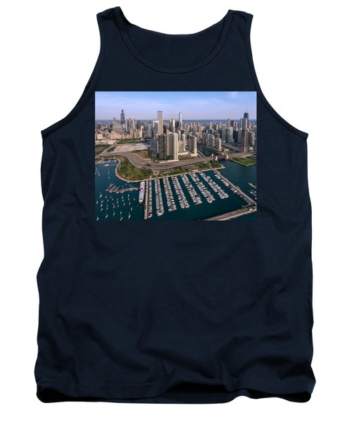 Dusable Harbor Chicago Tank Top