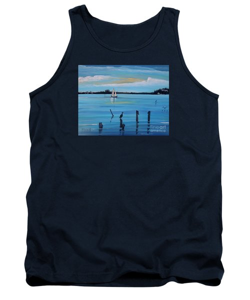 Dusk Approaching  Tank Top by Marilyn  McNish