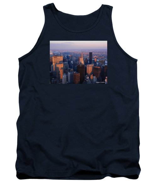 Tank Top featuring the photograph East Coast Wonder Aerial View by Emmy Marie Vickers