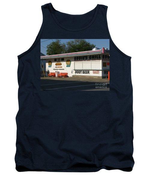 Eddie's Grill Tank Top by Michael Krek