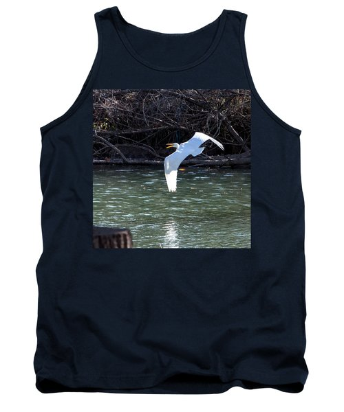 Egret In Flight Tank Top