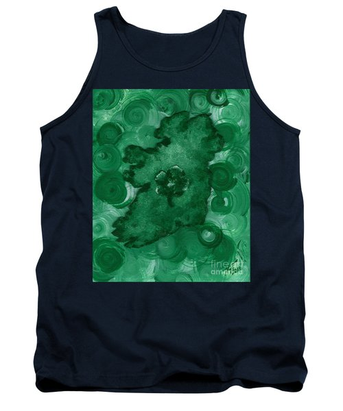 Eire Heart Of Ireland Tank Top by Alys Caviness-Gober