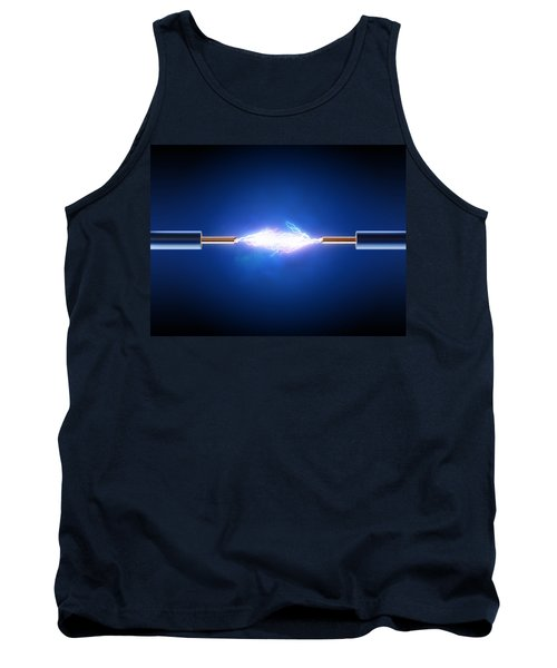 Electric Current / Energy / Transfer Tank Top by Johan Swanepoel