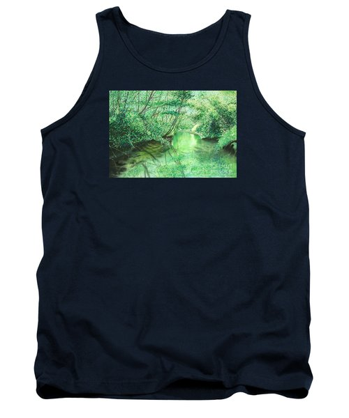 Emerald Stream Tank Top