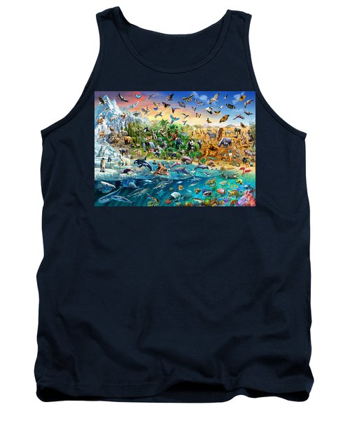 Endangered Species Tank Top by Adrian Chesterman
