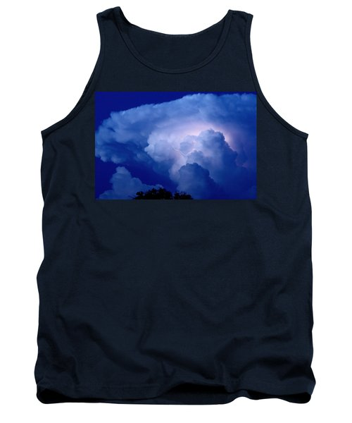 Tank Top featuring the photograph Evening Giant by Charlotte Schafer