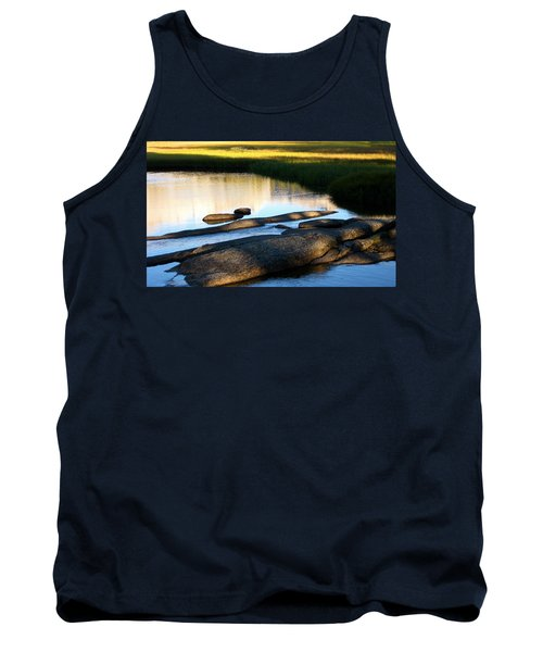Contemplating Sunset Tank Top by Amelia Racca