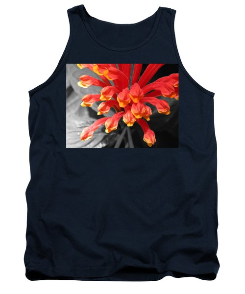 Exotic Flower Tank Top