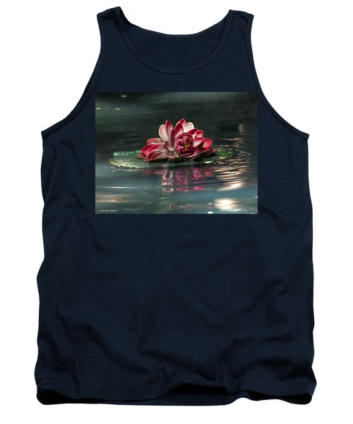 Tank Top featuring the photograph Exquisite Water Flower  by Lucinda Walter