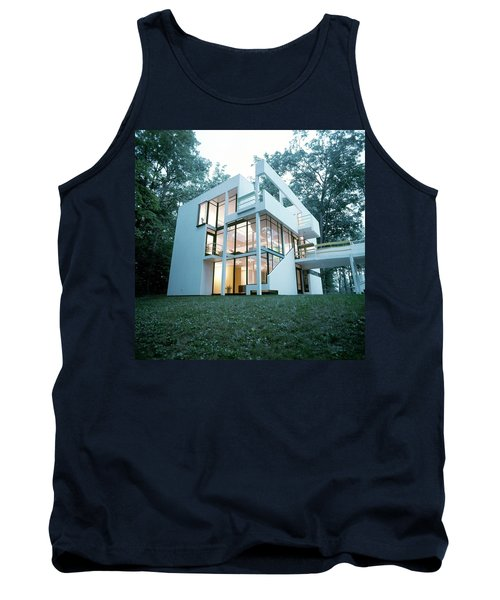 Exterior Of Mr. And Mrs. Jay Hanslemann's Tank Top