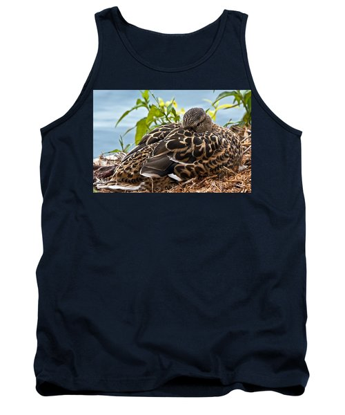 Tank Top featuring the photograph Eye Watching You by Kate Brown