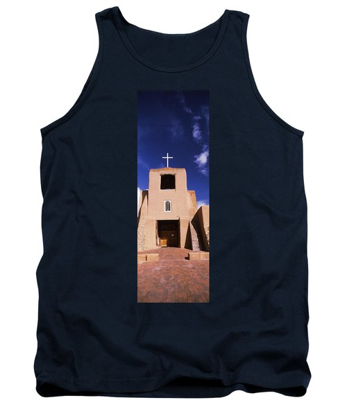 Facade Of A Church, San Miguel Mission Tank Top