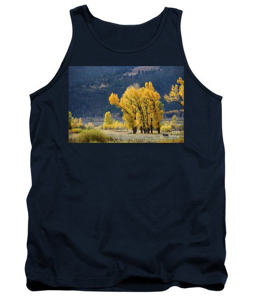 Fall In Yellowstone Tank Top