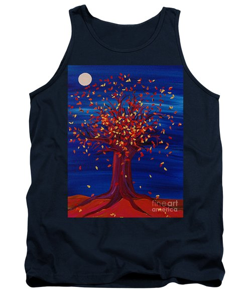 Fall Tree Fantasy By Jrr Tank Top by First Star Art